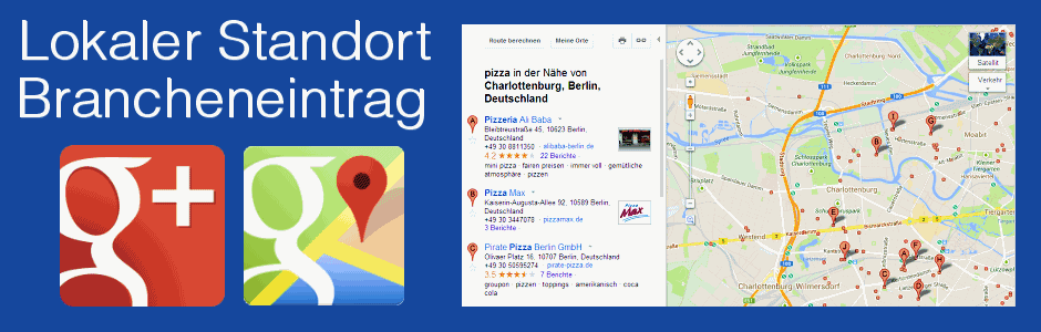 Google Local Standort Eintragung