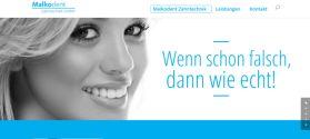 Malkodent Zahntechnik Berlin Webdesign