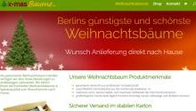 X-Masbaume Berlin Webdesign