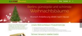 X-MasBäume Berlin Webdesign