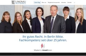 Lingnau Rechtsanwälte Webdesign