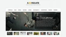 Aggregate Website Design Theme