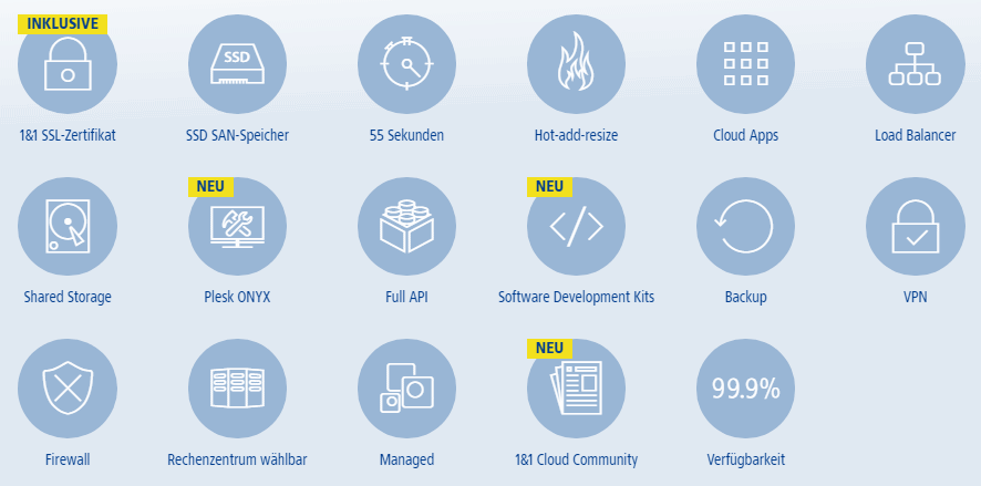 Der Hochleistungs-Cloud-Server für Ihre Website