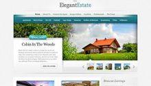 Elegant Estate Website Vorlage