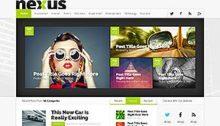 Nexus Webdesign Theme Vorlage