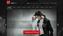 Style Shop Online-Shop Vorlage Theme