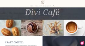 Divi Cafe Theme