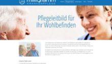 Milligramm Krankenpflege Berlin Webdesign