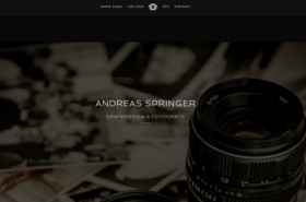 Webdesigner Berlin: Andreas Springer Fotograf Website