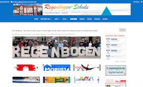 Webdesigner Berlin: Regenbogen-Schule-Website