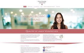 Petra Hannig Zahnärztin Berlin Webdesign