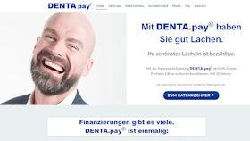 DENTA.Pay Zahnersatz Finanzierung Webdesign