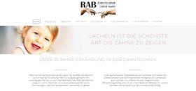 RAB Zahntechnik Labor Berlin Webdesign