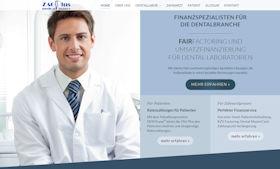 ZAGplus medicalFinance Berlin Webdesign