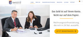 WestFactoring Financial Services Berlin Webdesign