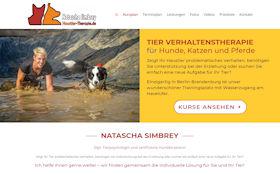 Hundetrainerin Natascha Simbrey